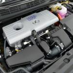Engine of Lexus CT 200h