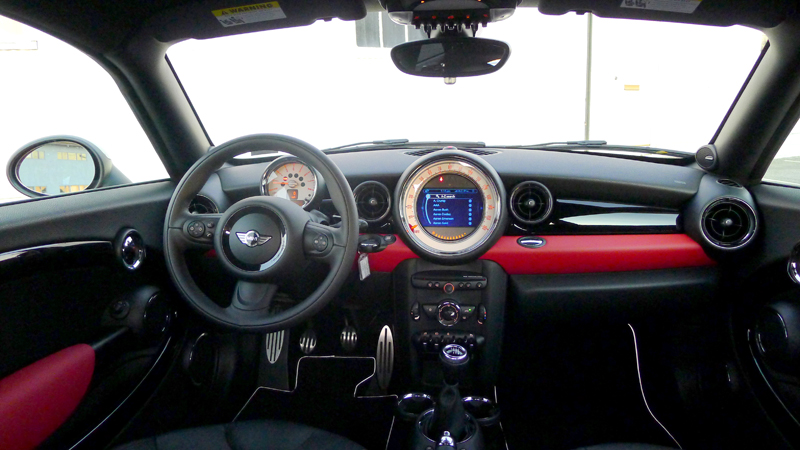 Interior Photo Of Mini Cooper S Coupe Alain Gayot Photos Gallery