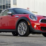 Three-quarter front view of Mini Cooper S Coupe