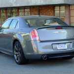 Rear view of 2012 Chrysler 300 SRT8