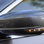 Rear-view mirror of 2012 Chrysler 300 SRT8
