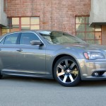 Three-quarter view of 2012 Chrysler 300 SRT8