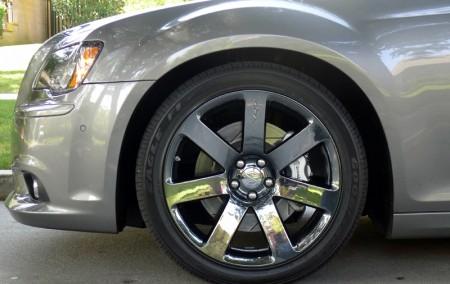 Wheel of 2012 Chrysler 300 SRT8
