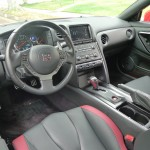 Interior of Nissan GT-R Black Edition