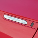 Detail of Aston Martin-like door handle