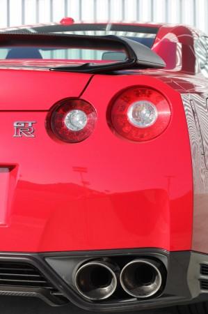 """Badass"" Nissan GT-R Black Edition"