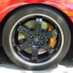 Dual-vented brembo brakes