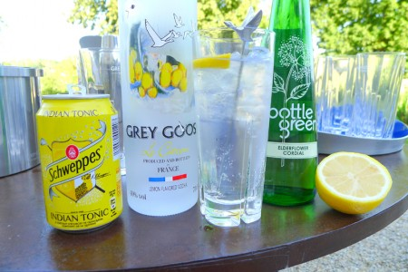 Grey Goose Citronic cocktail