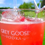 Refreshing summertime Grey Goose L'Orange cocktail