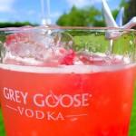 Refreshing summertime Grey Goose L'Orange cocktail