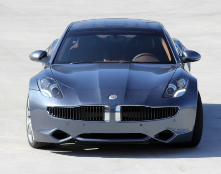 Front view of Fisker Karma