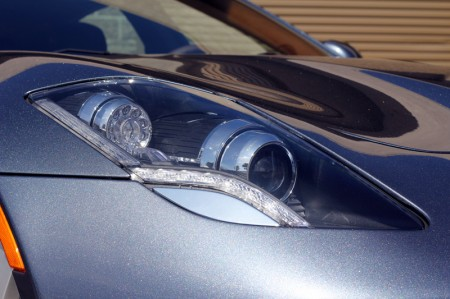 Headlight of Fisker Karma