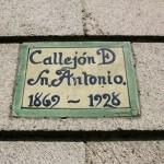 Callejón D Sn Antonio, 1869-1928