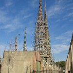 Watts Towers consists of 17 interconnected structures