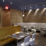 Designed space at Isola Trattoria & Crudo Bar