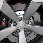 2013 Audi RS 5 Coupe wheel and brake detail