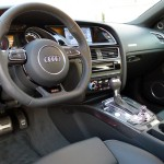 Leather interior of 2013 Audi RS 5 Coupe