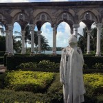 Statue at The Cloister at the Ocean Club on Paradise Island, The Bahamas