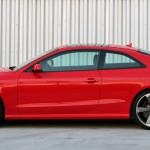 Side view of the 2013 Audi RS 5 Coupe