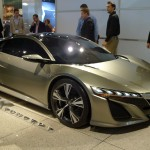 Acura NSX Concept at the 2012 LA Auto Show