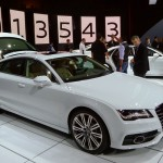 Audi A7 TDi at the 2012 LA Auto Show