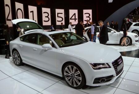 Audi A7 TDi at the 2012 LA Auto Show