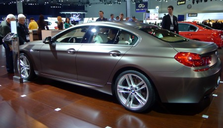 BMW Gran Coupe at the 2012 LA Auto Show