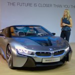 BMW i8 Spyder Plug-In Hybrid at the 2012 LA Auto Show