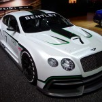 Bentley GT3 at the 2012 LA Auto Show
