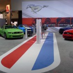 Ford Mustang Stable at the 2012 LA Auto Show