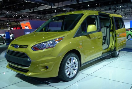 Ford Transit Connect at the 2012 LA Auto Show