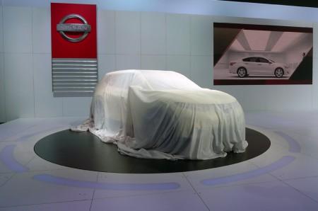 Unveiling of the Nissan Hi-Cross Concept at the 2012 LA Auto Show