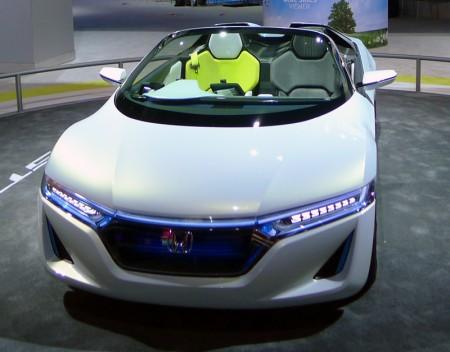 Honda EV-Ster Concept at the 2012 LA Auto Show