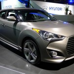 Hyundai Veloster Turbo at the 2012 LA Auto Show