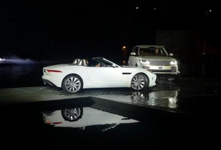 Jaguar F-TYPE at the 2012 LA Auto Show