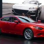 Mazda6 at the 2012 LA Auto Show