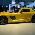 Mercedes-Benz SLS AMG Black Series at the 2012 LA Auto Show