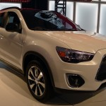 Mitsubishi Outlander at the 2012 LA Auto Show