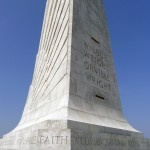 Monument at the Wright Brothers National Memorial, Kitty Hawk
