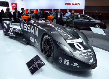 Nissan Delta Wing at the 2012 LA Auto Show