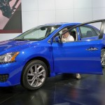 Nissan Sentra at the 2012 LA Auto Show