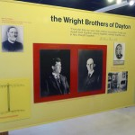 Panel dedicated to the Wright Brothers at Wright Brothers National Memorial