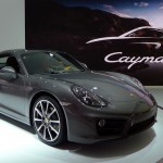 Porsche Cayman at the 2012 LA Auto Show