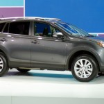 The Fourth Generation 2013 Toyota RAV4 at the 2012 LA Auto Show