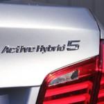 Brake light of the BMW ActiveHybrid 5