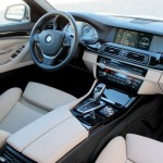 Interior of the BMW ActiveHybrid 5