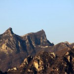 Mountain View of Great Wall of China