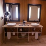Bathroom at the Riviera Palm Springs Hotel