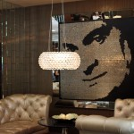 Coin Art at the Riviera Palm Springs Hotel