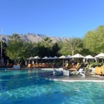 Poolside at the Riviera Palm Springs Hotel